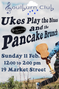 Ukes Play The Blues & Blues Brunch Sunday 11 Feb 12 midday