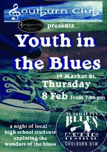 youth In The Blues 2018 Thursday Feb 8th 7pm